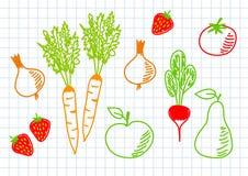 Gesunde Nahrung vektor abbildung