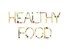 Gesunde Nahrung lizenzfreie abbildung