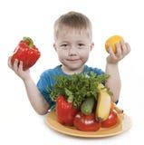 Gesunde Nahrung der Kinder. Lizenzfreies Stockbild
