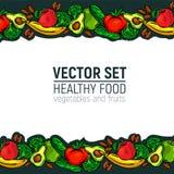 Gesunde Nahrung des Gemüses Stockfotos