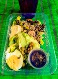 Gesunde Nahrung K?stlicher Salat yummy Gr?n stockfoto