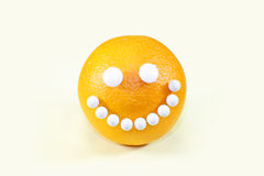 Gesunde Nahrung Orange Stockfoto