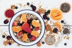 Gesunde Nahrung zum Frühstück Lizenzfreies Stockbild