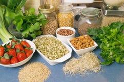 Gesunde Nahrungsmittel lizenzfreies stockfoto