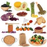 Gesunde Nahrungsmittelprobeflasche Lizenzfreie Stockfotos
