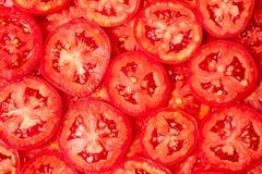 Gesunde natürliche Nahrung, Hintergrund. Tomaten Stockfoto