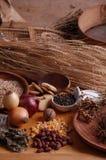 Gesunde Naturistnahrung Lizenzfreies Stockbild