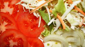 Gesunde neue Lebensmittelinhaltsstoffe Stockfoto