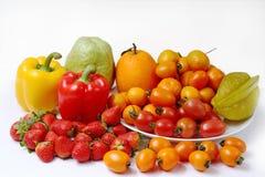 Gesunde Obst und Gemüse Stockfotografie