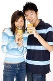 Gesunde Paare Stockfoto