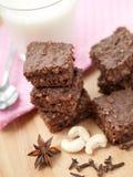 Gesunde paleo Schokoladenkuchen Lizenzfreie Stockbilder