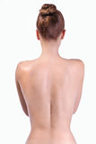 Gesunde Rückseite Stockbild