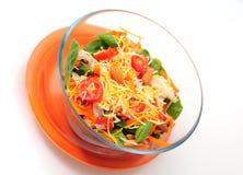 Gesunde Schüssel Salat Lizenzfreies Stockfoto