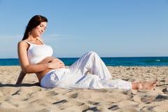 Gesunde Schwangerschaft Lizenzfreie Stockfotos
