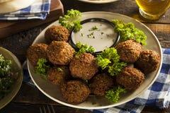 Gesunde vegetarische Falafel-Bälle Stockbild