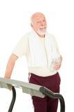 Gesunder älterer Mann Stockbild