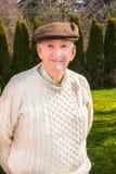 Gesunder aktiver älterer Mann stockfotos