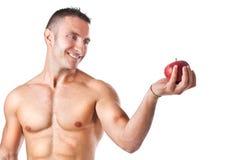 Gesunder Apfel stockfotos