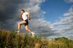 Gesunder Athlet Stockbild