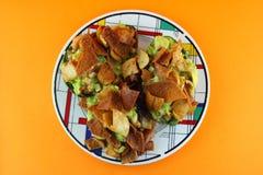 Gesunder Avocado-Salat Lizenzfreies Stockfoto