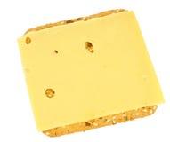 Gesunder Cracker mit Käse Lizenzfreies Stockbild