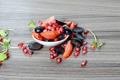 Gesunder Fruchtsalat Stockfoto