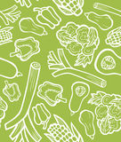 Gesunder Gemüsehintergrund Stockbild