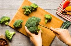 Gesunder Lebensmittel- und Kopienraum, Frischgemüse Lizenzfreies Stockbild