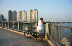 Gesunder Lebensstil des Bürgers bei Vietnam Stockfotografie