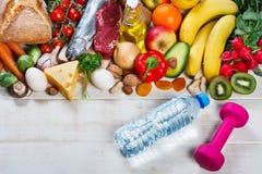 Gesunder Lebensstil und Gesundheitspflegekonzept lizenzfreie stockfotos