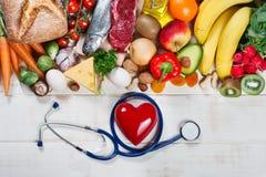 Gesunder Lebensstil und Gesundheitspflegekonzept stockfoto
