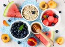 Gesunder Nachtisch der frischen Frucht Stockfoto