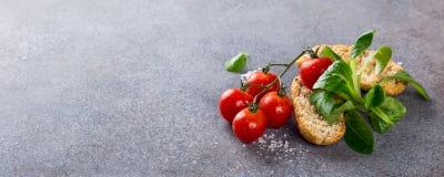 Gesunder Nahrungsmittelhintergrund Stockfoto