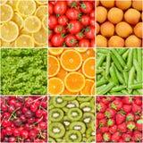 Gesunder Nahrungsmittelhintergrund. Lizenzfreie Stockfotos