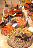 Gesunder Nahrungsmittelmarkt Lizenzfreies Stockbild