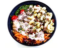 Gesunder Salat Lizenzfreies Stockfoto