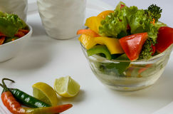 Gesunder Salat Stockfotografie