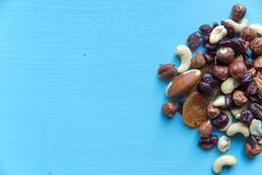 Gesunder schneller Snack im Büro Stockfoto