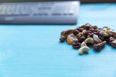 Gesunder schneller Snack im Büro Stockfotos