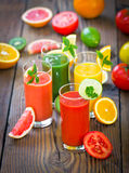 Gesunder Smoothie Stockfoto