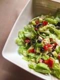 Gesunder Snack: bunter Salat stockfotos