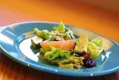 Gesunder Sommer-Salat Stockbild