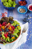Gesunder superfood Salat Lizenzfreie Stockfotos
