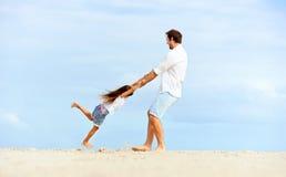 Gesunde Spaßfamilie lizenzfreie stockbilder