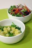 Gesunder Vegan-Salat Stockbild