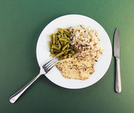 Gesundes Abendessen Lizenzfreies Stockfoto