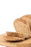 Gesundes chrono Brot lokalisiert über weißem Hintergrund Stockbild
