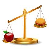 Gesundes Essen vektor abbildung