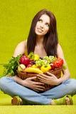 Gesundes Essen, gesunde Lebensdauer lizenzfreies stockbild