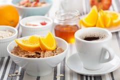 Gesundes Frühstück Stockbild